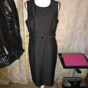 Calvin Klein black Career Dress 12 fully lined 12